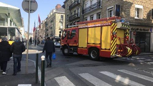 Lisieux. Une odeur de gaz en centre-ville, les pompiers procèdent à des détections