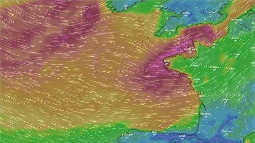 Météo. Un très fort coup de vent touchera l'Ouest et le Nord de la France en milieu de semaine