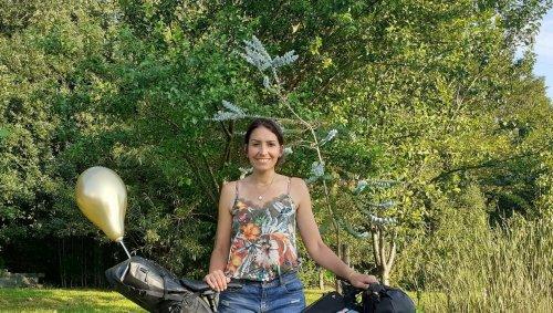 Près d'Angers. Elle va parcourir 500 km à vélo contre les cancers des enfants