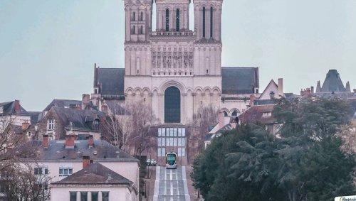 Angers. Le tramway sur la montée Saint-Maurice ? Le drôle de photomontage posté par un internaute