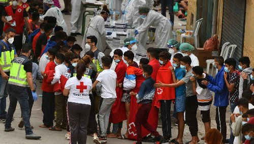 Migrants à Ceuta. L'Espagne appelle le Maroc au respect des frontières