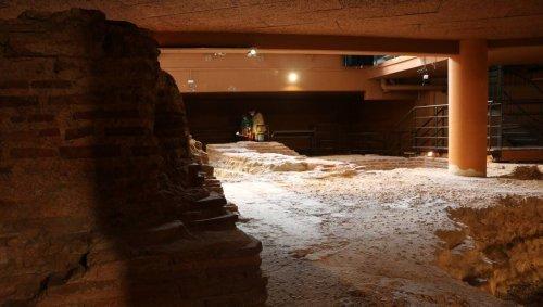 Le Mans. Les habitants (re)découvrent les ruines des thermes romains