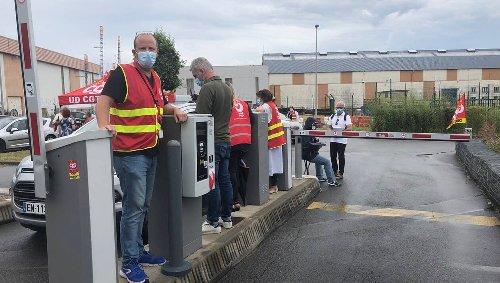 Hôpital de Lorient. L'opération « parking gratuit » de la CGT