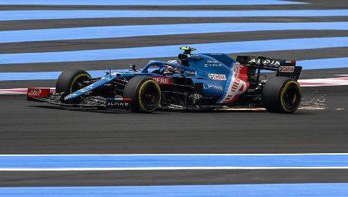 Formule 1. Grand Prix de France : Ocon regrette le manque de vitesse des Alpine