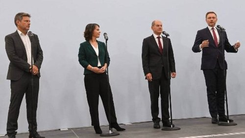 Allemagne. SPD, libéraux et Verts annoncent un accord préliminaire pour former un gouvernement