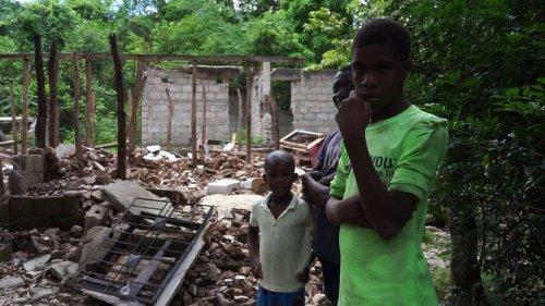 REPORTAGE. L'Asile, une commune oubliée du séisme en Haïti