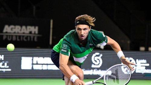 Tennis. Open de Rennes : Arthur Rinderknech assume son nouveau statut