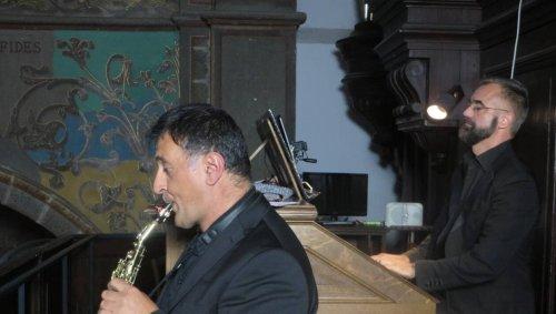 À Saint-Brieuc, un concert orgue et saxophone étonnant et séduisant