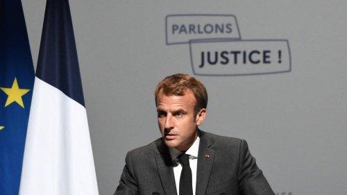 États généraux de la justice. Emmanuel Macron veut « restaurer le pacte civique avec la nation »