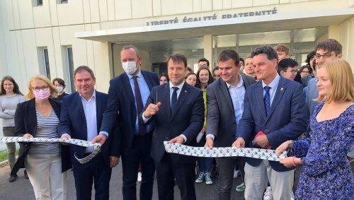 À Vannes, le deuxième lycée Diwan de Bretagne inauguré