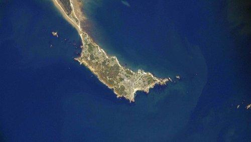 Depuis l'espace, Thomas Pesquet photographie la presqu'île de Quiberon