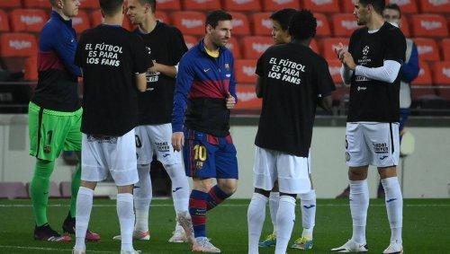 VIDÉO. Super Ligue : « Méritez-la ! », le message des joueurs de Getafe au FC Barcelone
