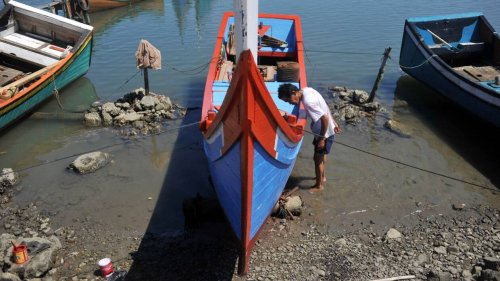 Or, pierres précieuses, statues: des pêcheurs de Sumatra remontent les trésors d'une cité oubliée