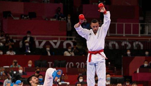 Karaté JO. Steven Da Costa champion olympique des -67 kg