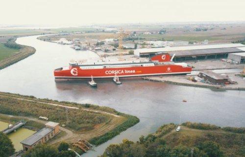 Corsica linea met à l'eau son nouveau navire