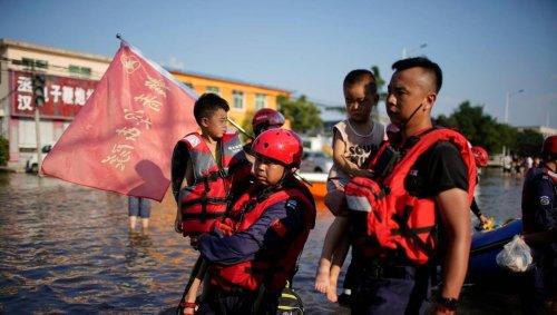 Chine. Après les inondations dévastatrices, une alerte au typhon