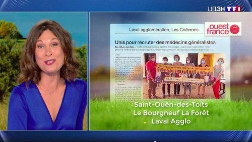 En Mayenne, les deux communes qui recherchent un médecin passent au JT de TF1