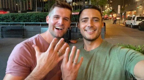 This TV Journalist Came Out & Announced Engagement to Weatherman