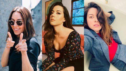 13 Pictures of Aubrey Plaza Looking Ridiculously Hot Because We're Gay