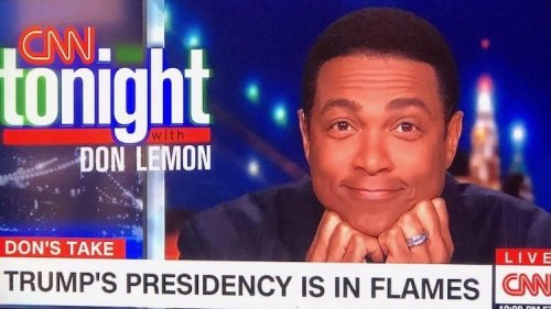 Don Lemon Is Leaving 'CNN Tonight,' Effective Immediately
