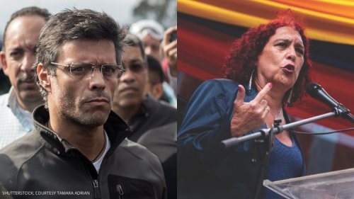 Leopoldo Lopez and Tamara Adrian Expose Venezuela's LGBTQ+ Hate Crimes