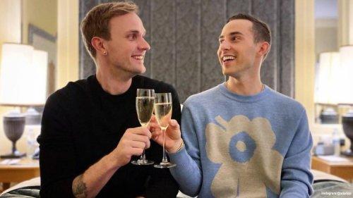 Here's How Adam Rippon & Fiancé JP Kajaala's Wedding Planning Is Going