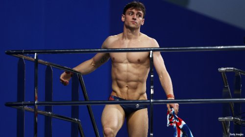 Tom Daley Wants You to Know the Olympic Village Beds Are Super Sturdy