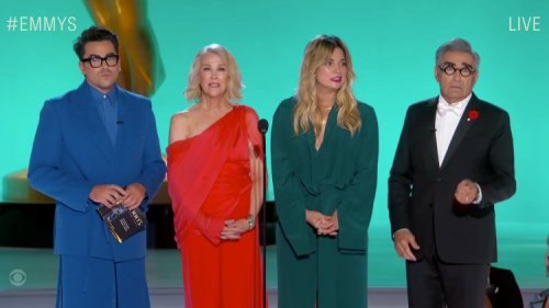 The 'Schitt's Creek' Cast Reunited & Stole the Show at the 2021 Emmys