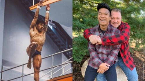 Olympic Diver Jordan Windle Credits & Thanks Gay Dad For His Success