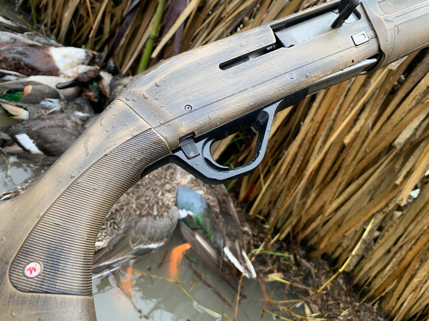 We Had Rob Roberts Customize a Winchester SX4 into the Ultimate Waterfowl Hunting Shotgun