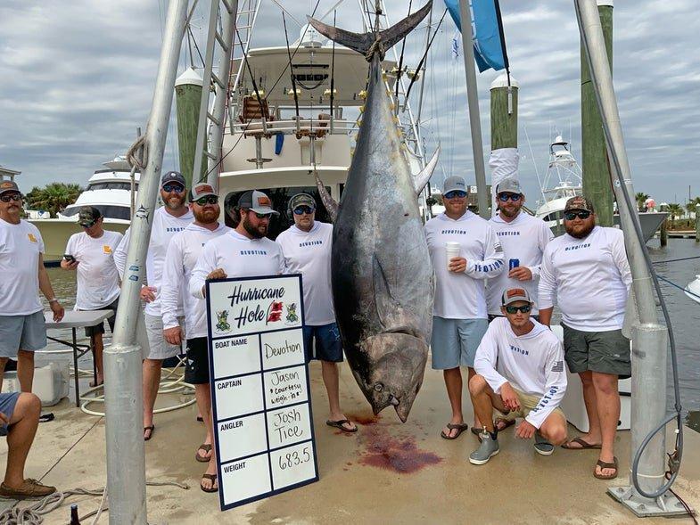 Marlin Angler Catches 683-Pound Bluefin Tuna Off Louisiana Coast