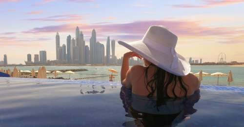 Dubai is Now Home to the World's Highest Infinity Pool
