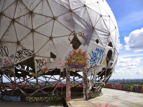 How to Visit Teufelsberg: An Abandoned Spy Station from the Cold War in Berlin