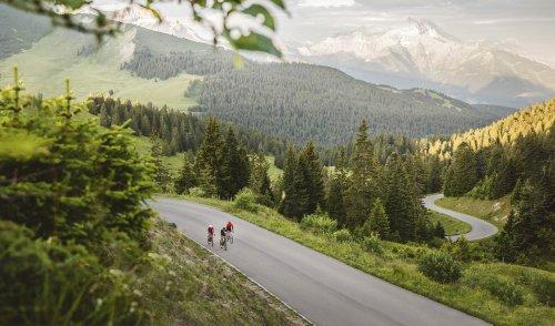 Cyclisme : le défi des grands cols des Alpes vaudoises