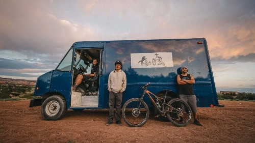 The Bike Shop on Wheels Traveling the Navajo Nation
