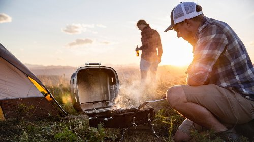 5 Portable Grills This Trailer-Dwelling Couple Recommends
