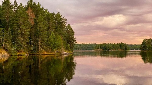 Staring Down Fear in Voyageurs National Park