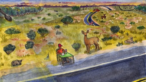 A Deer Is Dead on the Side of the Road. Should You Eat It?