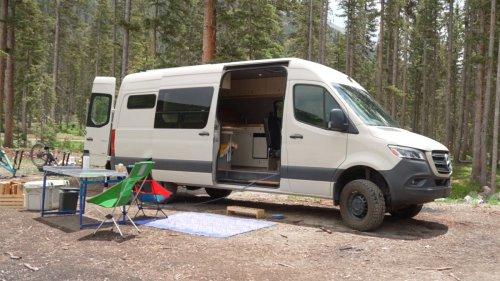 How an Outside Staffer Built Out a Sprinter Van