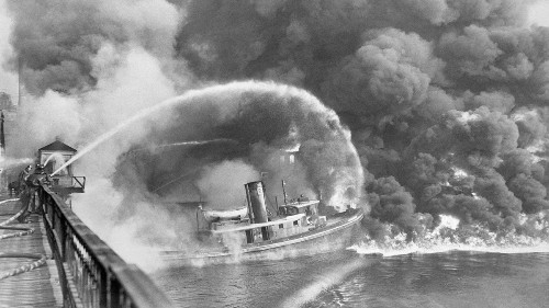 51 Years Later, the Cuyahoga River Burns Again