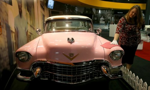 Elvis Presley: Take an Inside Look at the King's Iconic Pink Cadillac