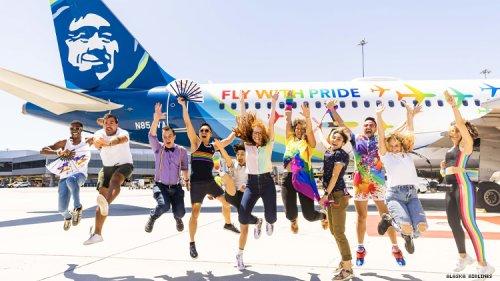 Alaska Airlines Celebrates Pride in the Skies