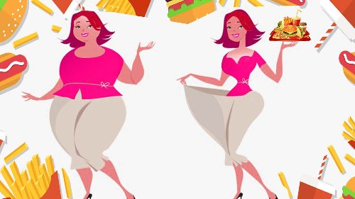 Lose Weight with Fast Food (Junk Food) – without Workout.