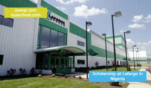 Scholarship at Lafarge in Nigeria