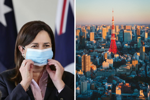 Woman Who Went to Tokyo in a Pandemic Demands to Know Why Someone Would Want to go to Tokyo in a Pandemic