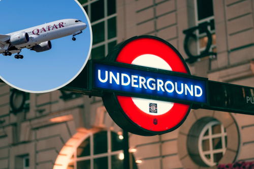 Qatar Airways Pilot Left With Fear of Heights After London Underground Sign Fell On His Head