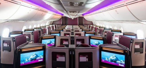 First Look: Qatar Airways Reveals Brand New Business Class Seat On Boeing 787-9 Dreamliners