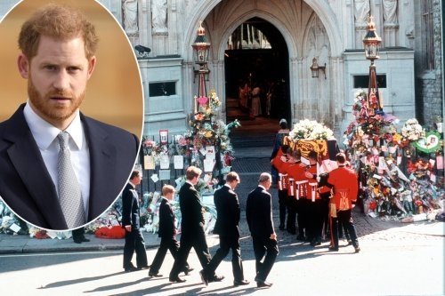 Prince Harry reveals he's still tormented by Princess Diana's funeral