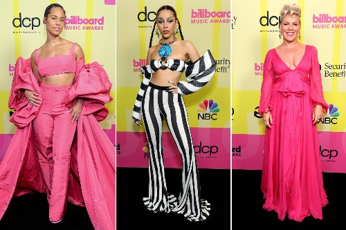Billboard Music Awards 2021 red carpet: All the celebrity fashion