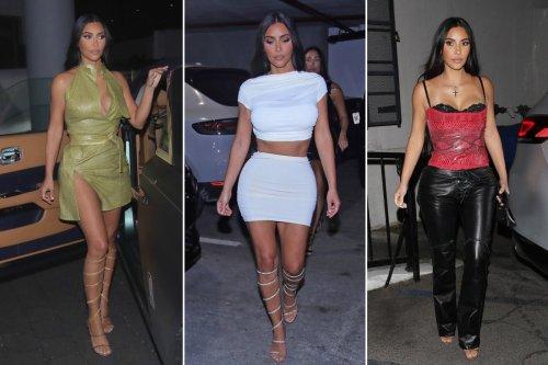 Kim Kardashian shows off her Miami fashion and more star snaps